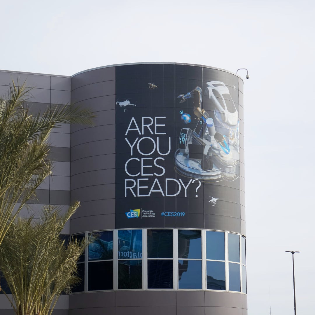 We are live at CES 2019!